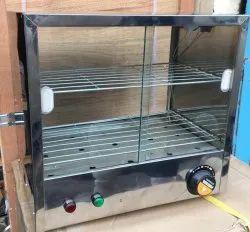 Modern SS Hot Case Food Warmer