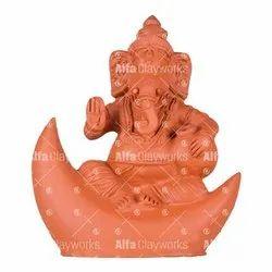 Clay Ganesha Statue
