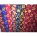 Rubina Gold Printed Mattress Fabric