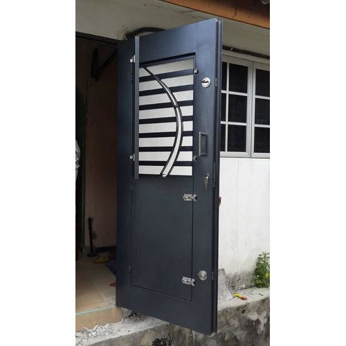Mild Steel Safety Door At Rs 750 Kilogram Ms Door नरम