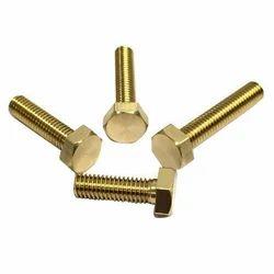 Brass Bolt, Size: M3-M12