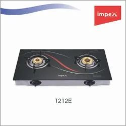 2 Burner Glass Gas Stove 1212E