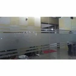 Plain Office Glass Film, Thickness: 1-10 Mm