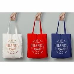 Handled Cotton Tote Bag Printing Services