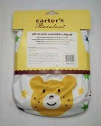 Carters All-in one Reusable Cloth Diapers, Packaging Size: 1