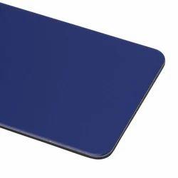Dark Blue Metallic Aluminium Composite Panel