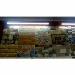Gloss Ceramic Elevation Wall Tiles, Thickness: 10-15 mm