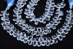 Sky Blue Topaz Faceted Beads