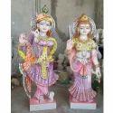 Handdecor Radha Krishna Marble Statue