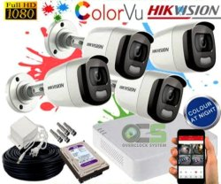 Hikvision Colour Night Vision Camera, Camera Range: 20 to 25 m