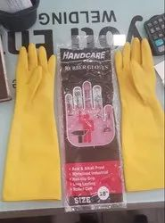 HandCare Rubber Hand Gloves