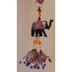Elephant With 3 Balls Hanging