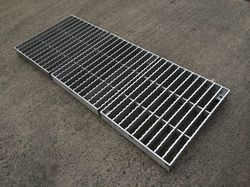 Mild Steel Anti Slip Grating
