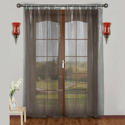 Lee Decor PVC AC Transparent Curtain