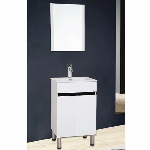 Toyo White Black 21 Inch Pvc Transitional Bathroom Vanities Size 540 X 460 Mm Id 19486138455