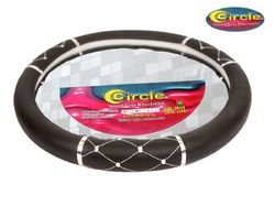 Steering Wheel Leather Grip Cover