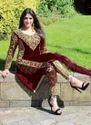 Party Wear Designer Velvet Salwar Suit