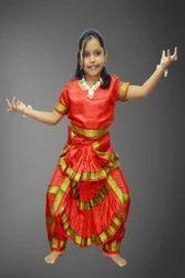 ea586eeab Cotton Bharatnatyam Dance Fancy Dress
