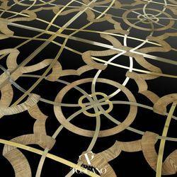 Marble Inlay Designing Flooring