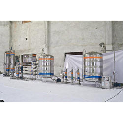 Mineral Water Processing and Bottling Plant