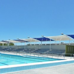 Swimming Pool Tensile Roofing Structure