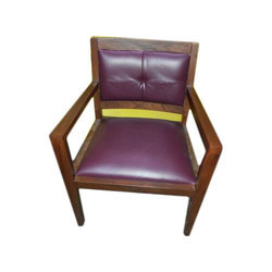 Wooden Living Room Arm Chair, Load Capacity: 60 to 80 kg