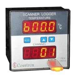 Digital Temperature Scanner With Logger