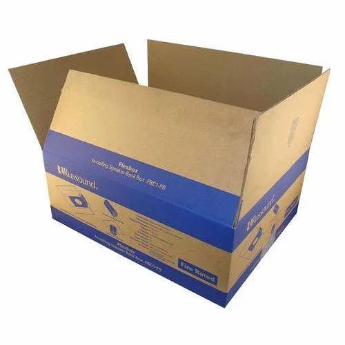 Printed Rectangular Carton Box