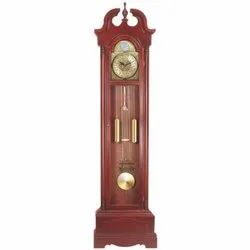 Wooden Standalone Grandfather Clock