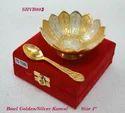 Bowl Golden & Silver Kamal 4