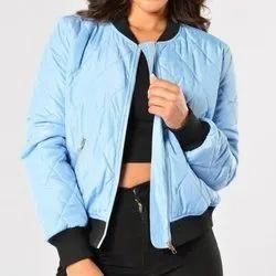 Full Sleeve Womens Bomber Jacket