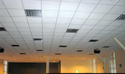 Mineral Fibre Ceiling Tiles 12mm Pin Hole