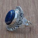 Lapis Lazuli Gemstone 925 Sterling Silver Handmade Jewelry