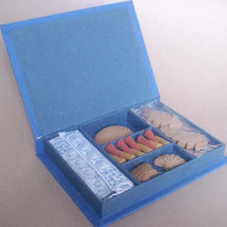 Incense Candles Box Blue