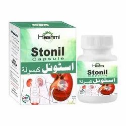 Hashmi Stonil Capsules for Clinical, Packaging Type: Bottle