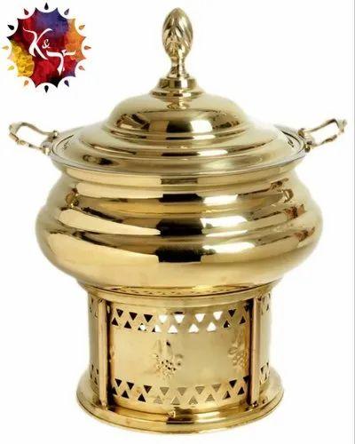SS Brass Chafing Dish