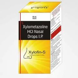 Xylofin-S Xylometazoline HCL Nasal Drops IP, Liquid, Packaging Size: 10 Ml