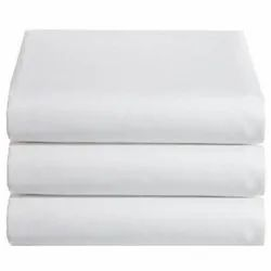 White Cotton Hospital Bed Linen