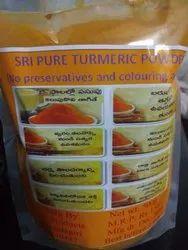 Unpolished Curcuma Longa Sri pure turmeric powder, For Home, Packaging Type: Plastic Bag