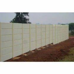 Precast Concrete Boundary Wall