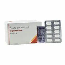 Ciprofloxacin Tablets I P 500 Mg