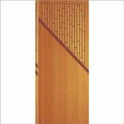 Brown Wood Wooden Flush Door