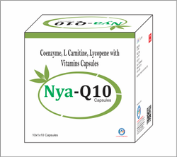 Coenzyme q 10, Lycopene,  L-Carnitine, Green Tea Extract