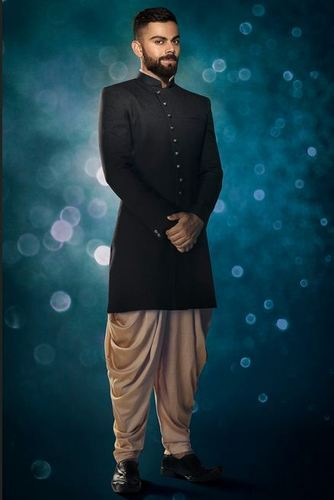 b822d5b690b2 An Elegant Black Indo Western Suits at Rs 14999