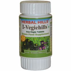 Herbal Hills Iron Vegie Tablets - I-Vegiehills 60, Packaging Type: Bottle