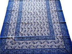 Hand Block Jaipuri Printed Cotton Bed Sheet