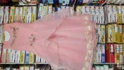 Tissue Female Kids Wear, Age: 8 Years To 14 Years