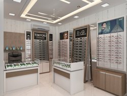 Optical Retail Store Showroom Design