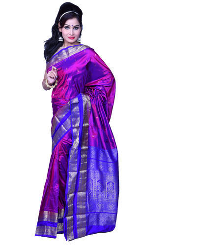 Brand Royal Multicolor Saree, With Blouse Piece