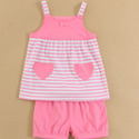 Sleeveless Baby Wear Set